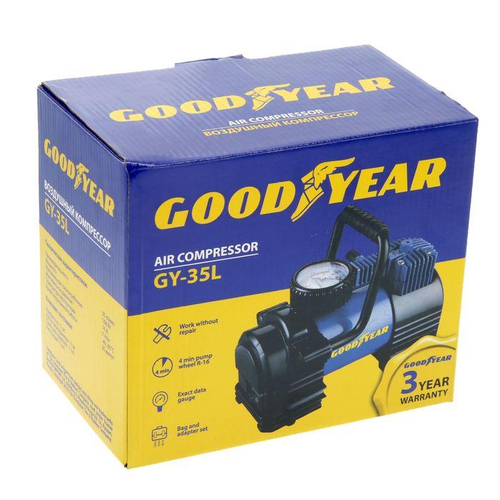 a3243297326c Купить Компрессор Goodyear GY-35L, 35 л/мин, со съемной ручкой, с ...