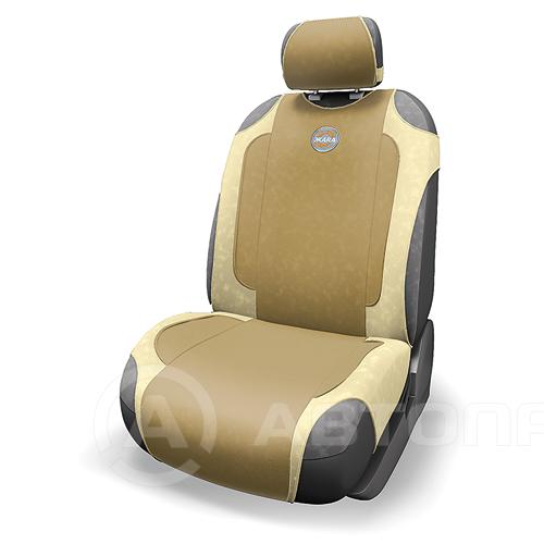 Обогрев сидений - авточехoл «ЖАРА 700» с инфракрасным подогревом бежевая