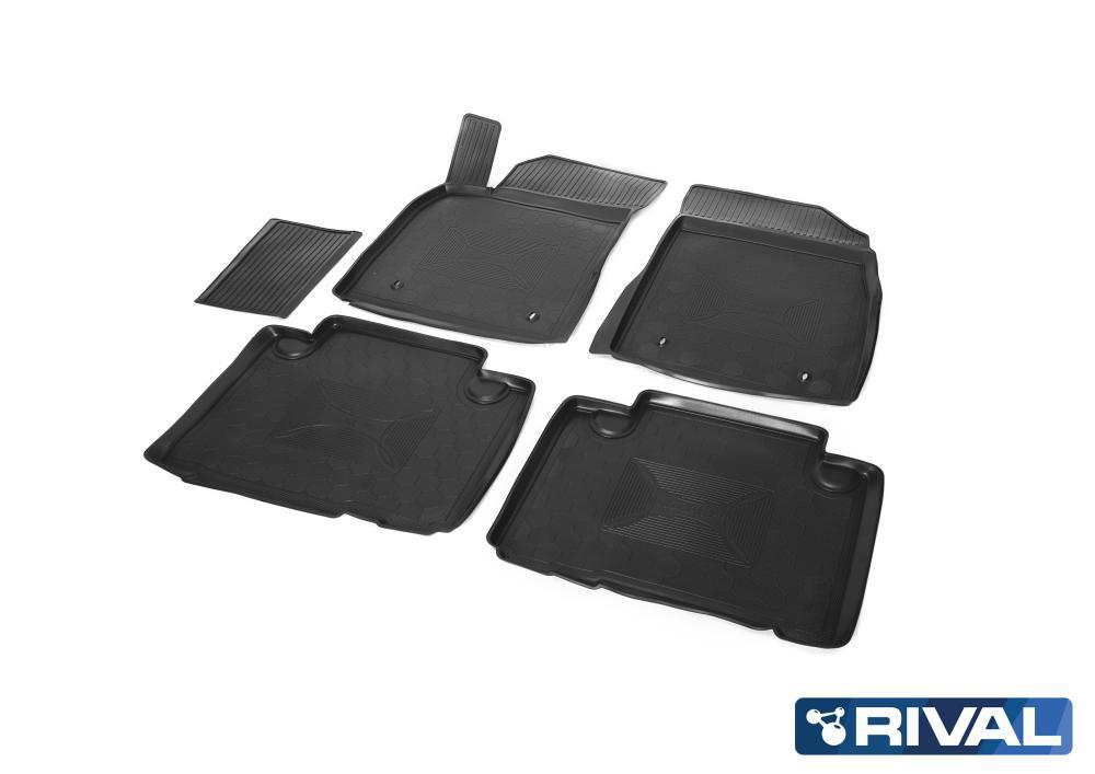 Комплект автомобильных ковриков Geely Emgrand X7 2 02001