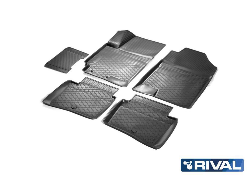 Комплект автомобильных ковриков Hyundai Solaris SD 05007