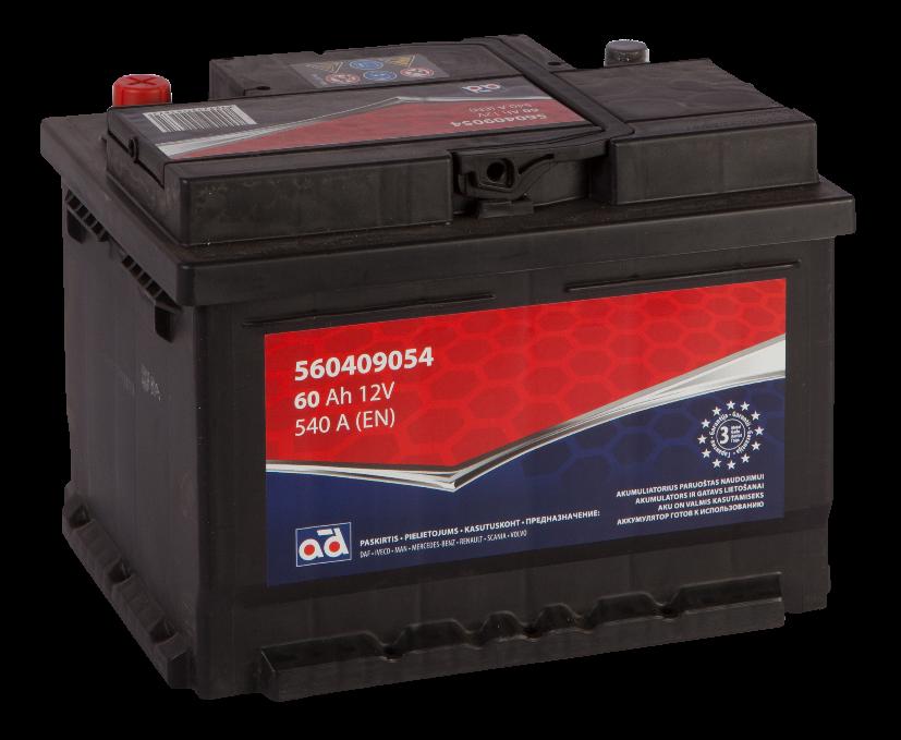 Аккумулятор AD 560409054 60 А/ч